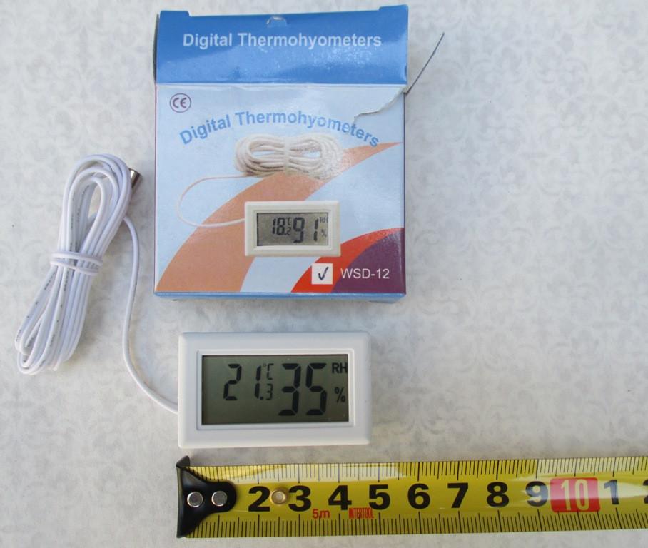 Термогигрометр цифровой с датчиком