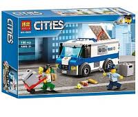 """Конструктор Bela 10654 """"Перевозчик денег"""" (аналог Lego City 60142), 150 дет"""