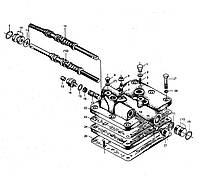 Узел клапана управления трансмиссией КПП BS428 ZL30 на погрузчик FL936F LW300F ZL30G ML333R ZL20 XZ636 CDM833