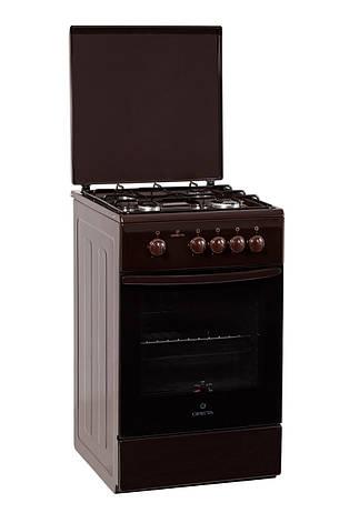 Кухонная плита GRETA 1470-00-16 коричневая, фото 2