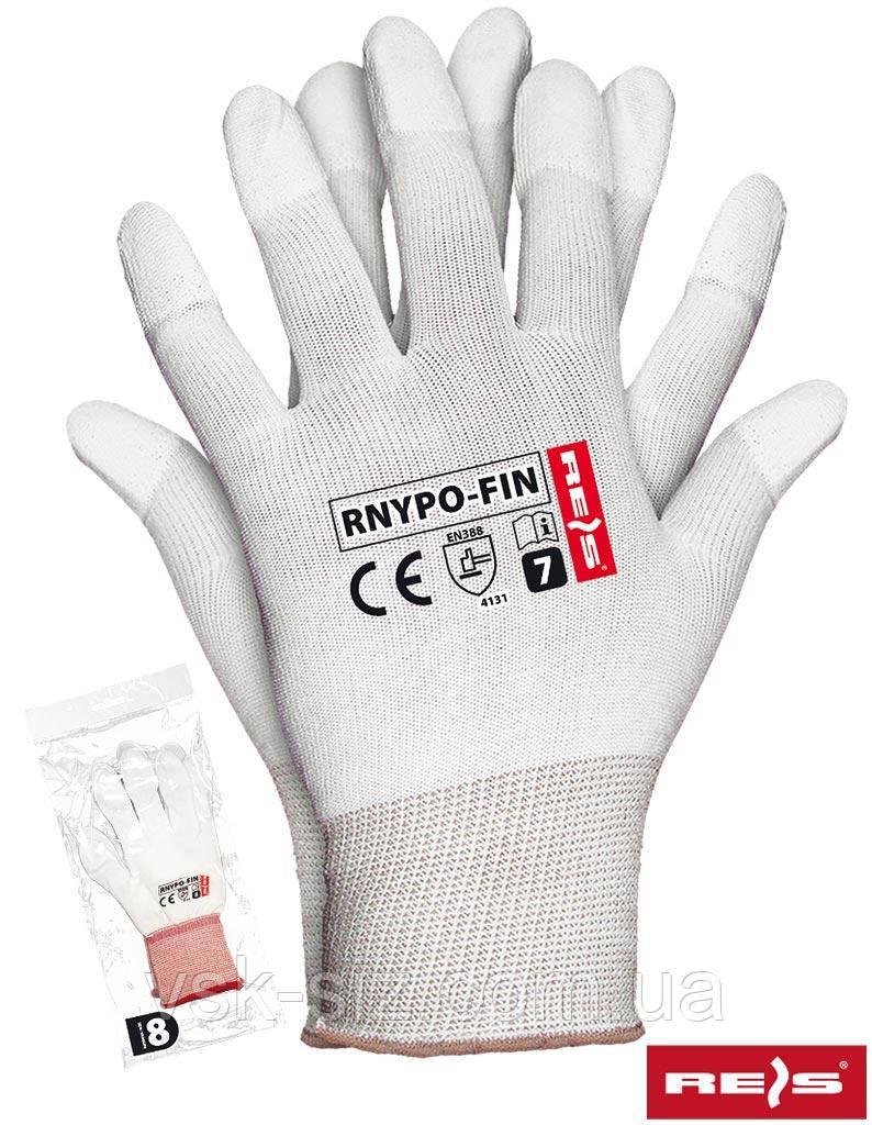 Перчатки с полиуретановым покрытием REIS RNYPO-FIN