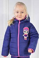 Демисезонные пальто и куртки для девочек