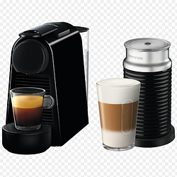 Кофемашина капсульная Nespresso Essenza Mini D30 Black + Капучинатор Nespresso Aeroccino 3