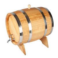 Дубова бочка для вина.Місткість на 5 літрів