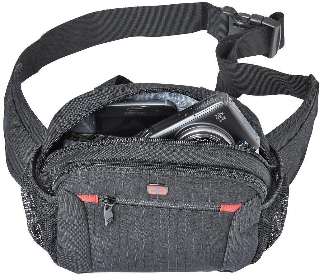 9104097f21b4 Мужская поясная сумка Wenger Waist Pack 604604, полиэстер, черный, цена 899  грн., купить в Киеве — Prom.ua (ID#911626375)