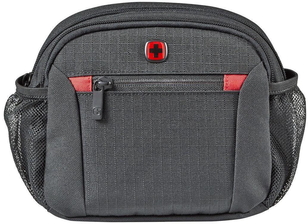 c2755424e2e5 Мужская поясная сумка Wenger Waist Pack 604604, полиэстер, черный -  SUPERSUMKA интернет магазин в