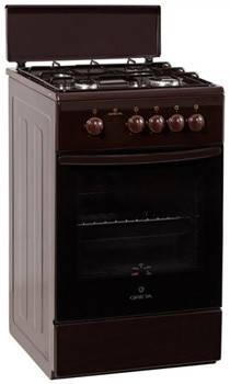 Кухонная плита GRETA 1470-00-17 коричневая, фото 2