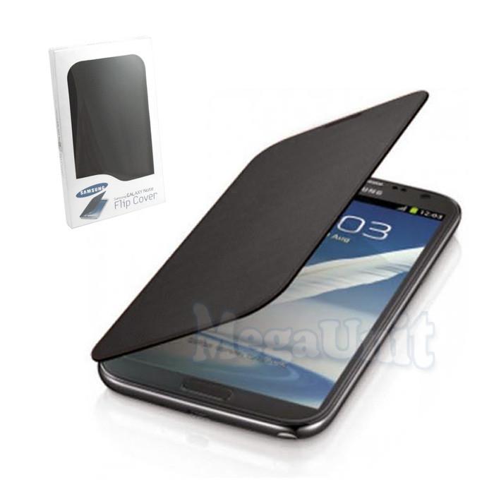 Чехол-панель Flip Cover для Samsung Galaxy Note (n7000/i9220) Черный