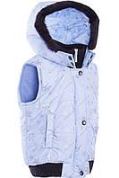 Стеганая жилетка для девочки (98-140), фото 1