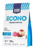 Сывороточный протеин UNS - ECONO Premium WPC 80 (900 грамм) milk chocolate/молочный шоколад