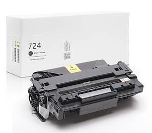 Картридж Canon 724 (чёрный) совместимый, стандартный ресурс (6.000 копий), аналог 3481B002 от Gravitone