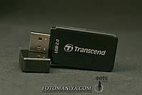 Картрідер  Transend   TSRDP5K для  карт пам'яті SD та MicroSD, фото 1