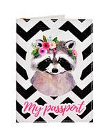 Обложка на паспорт Енот, фото 1