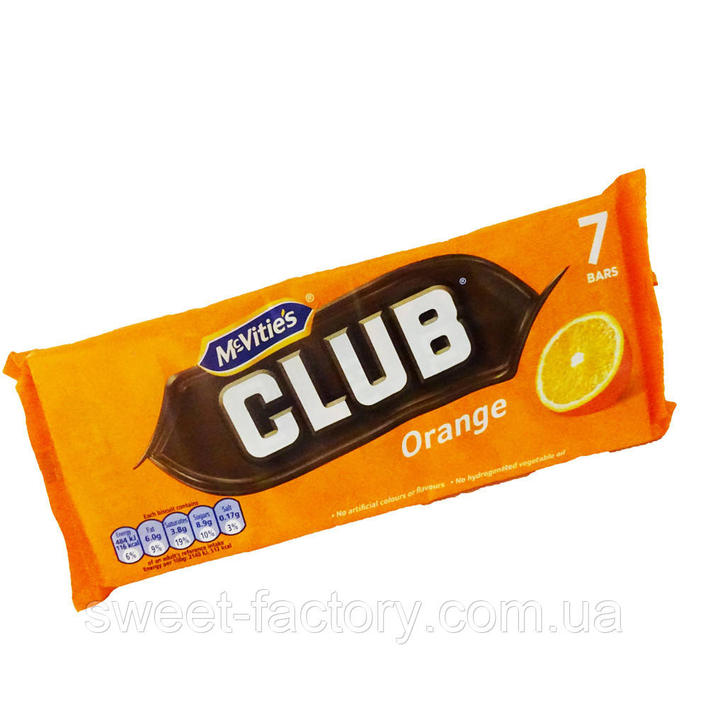 Печенье McVities Club Orange Упаковка