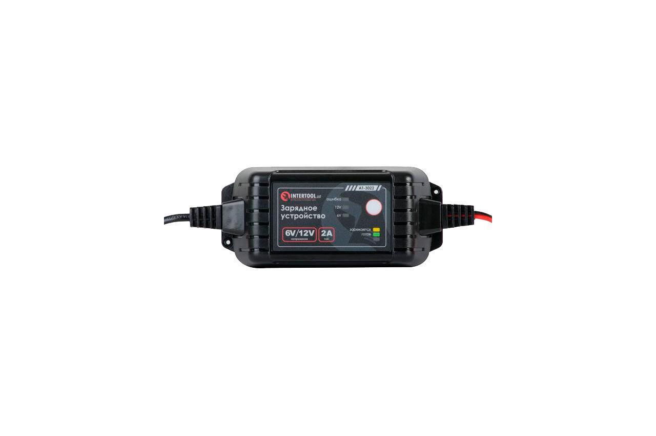 Зарядное устройство Intertool - 6В-12В x 2А
