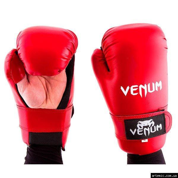 Перчатки Venum KungFu, ММА, 355 Flex, S,L,M, красный