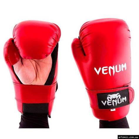 Перчатки Venum KungFu, ММА, 355 Flex, S,L,M, красный, фото 2