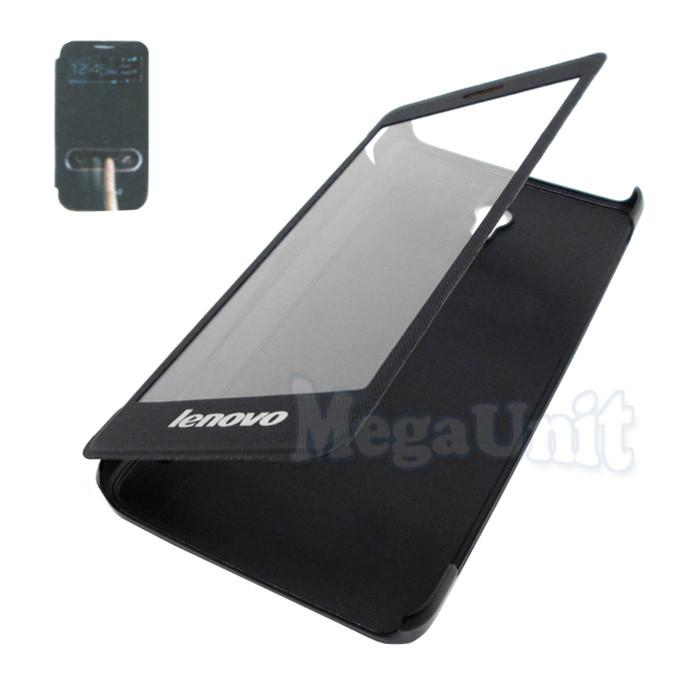 Чехол-книжка Flip Cover для Lenovo S860 Черный