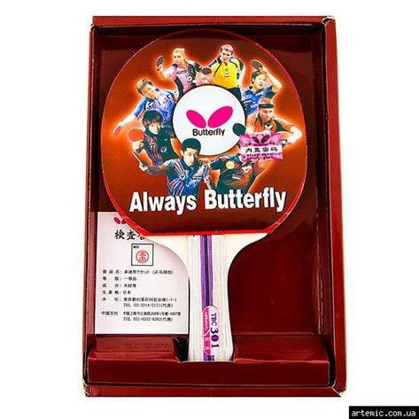 Ракетка для настольного тенниса Batterfly 3*, 1шт, фото 2