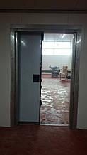 Промышленные распашные двери с нержавеющей стали