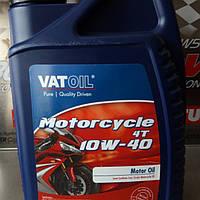 Масло моторное для мотоцикла/скутера Vatoil Motorcycle 4T 10W40 1л