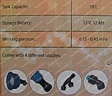 Аккумуляторный опрыскиватель Spektr SES-18 (18 литров), фото 2