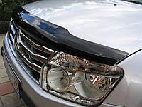 Дефлектор капота (мухобойка) RENAULT Duster 2011 (Рено Дастер) SIM