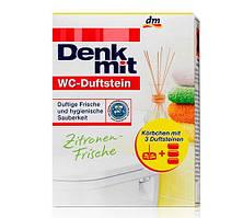 DenkMit WC-Duftstein Zitronen-Frische освежитель воздуха под ободок унитаза 2 tabs