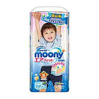 Трусики Moony Big 38 шт. 12-17 кг для внутреннего рынка Японии; Пол - Для мальчика