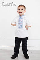 Вишиванка дитяча Чумацька синя