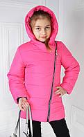 """Демисезонная куртка на девочку подростка  """"Виолетта""""  розовый"""