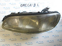 Фара левая Oпель Oмега Б, Omega B