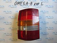 Фонарь задний левый универсал Опель Омега А, Omega A