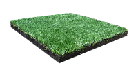 Гумова плитка-трава декоративна (40/20 мм)