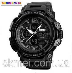 Мужские наручные часы Skmei 1343 (Black)
