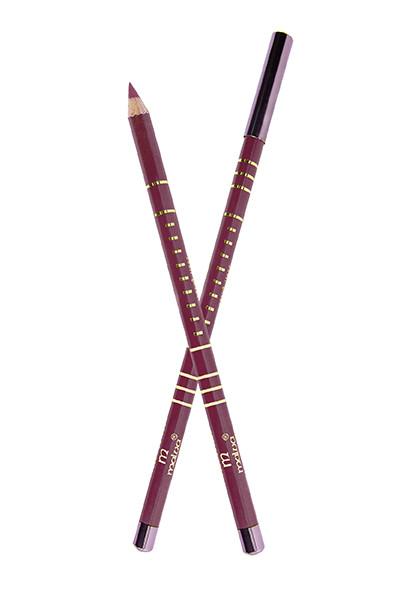 Олівець дерев'яний для губ Malva №7 Maroon