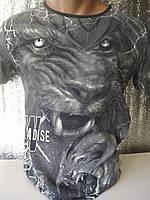 Мужская футболка двухсторонняя GRIN Турция опт р. M, L, XL, XXL