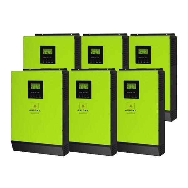AXIOMA energy Сетевой солнечный инвертор с резервной функцией 18кВт, 220В,   ( ISGRID 3000 - 6 шт. в параллель), AXIOMA energy
