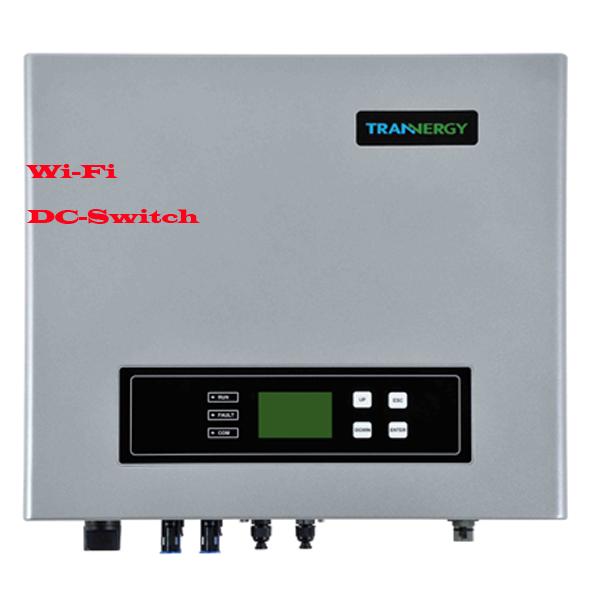 Trannergy Сетевой солнечный инвертор 5 кВт трехфазный (Модель TRB5000TL), Trannergy