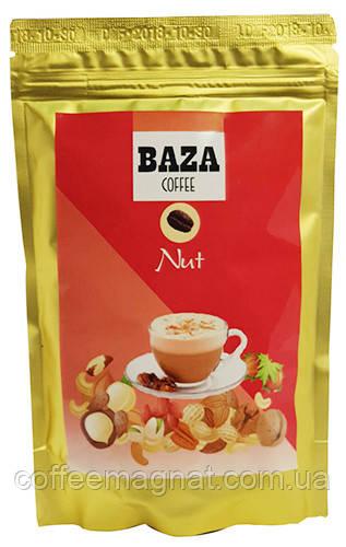 Ароматизированный растворимый кофе Baza Nut (Орех) 100 г