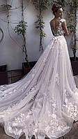 Свадебное платье легкое 3д кружево