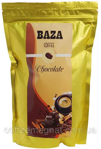 Кава в зернах ароматизований BAZA Chocolate (Шоколад) 500 г
