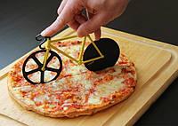 Нож для пиццы Велосипед желтый, Ніж для піци жовтий Велосипед, Кухонные принадлежности
