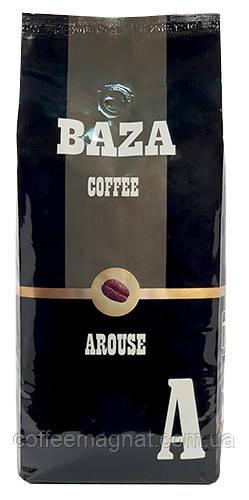 Зернова кава 20% арабіка 80% робуста 1 кг Baza Arouse