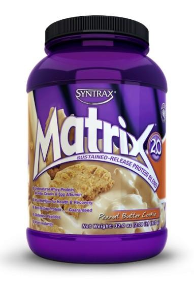 Многокомпонентный протеин Syntrax - Matrix 2.0 (907 грамм) peanut butter cookies/печенье с арахисовым маслом