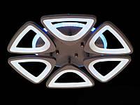 Потолочная LED-люстра с диммером и подсветкой, 120W, фото 1