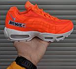 "Мужские кроссовки N1ke Air Max 95 ""Just Do It"" Orange. Живое фото (Реплика ААА+), фото 2"