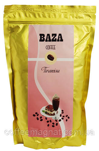 Кофе в зернах ароматизированный Baza Tiramisu (Тирамису) 500 г
