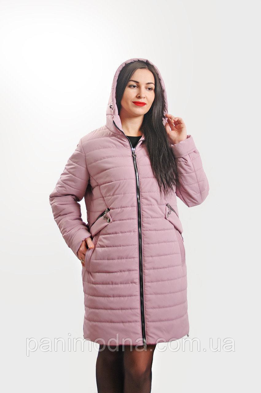 bbf49f7d06d Стильная демисезонная женская куртка (50-58)