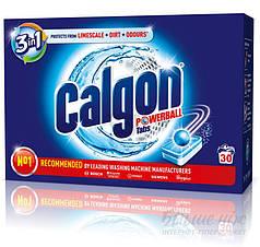 CALGON 2 in1 Средство для смягчения воды в стиральных машинах в таблетках 30 шт